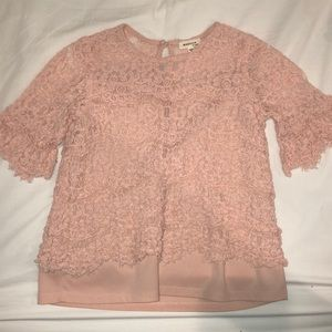 Monteau lace blouse